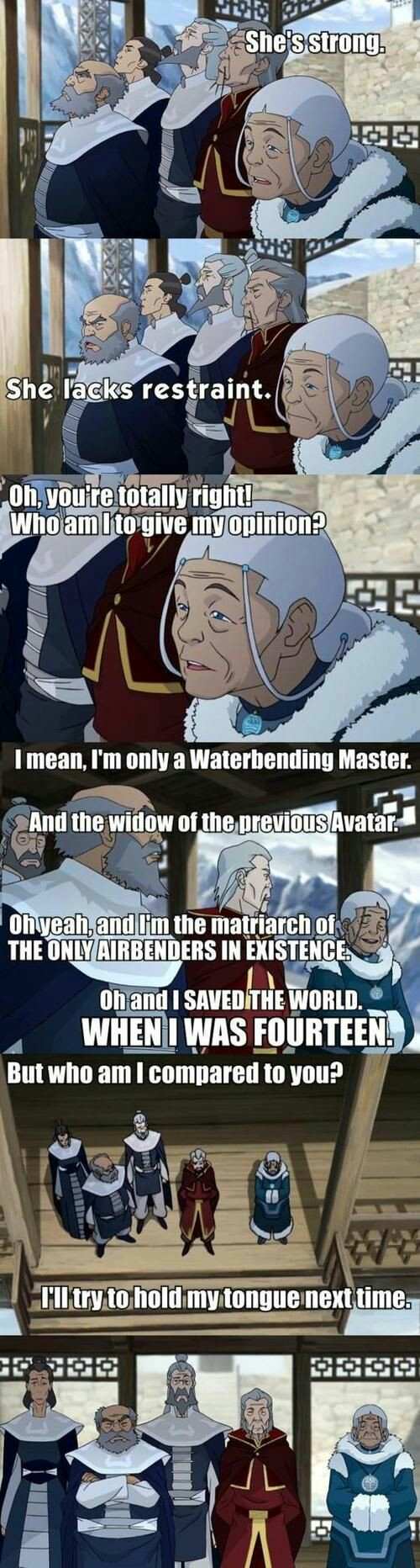 The Legend of Korra – Katara