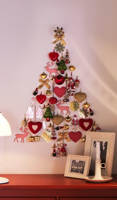 Wall Christmas DIY Ornaments Ideas