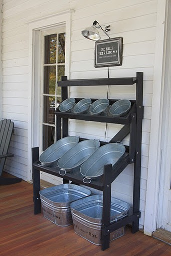 Backyard Parties – drink and snack bins!