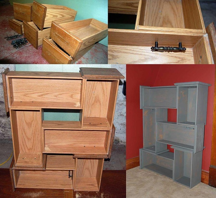 Re-use a dresser Ideas