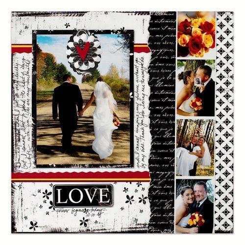 Wedding scrapbook idea. scrapbooking