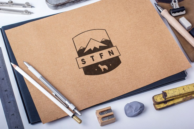 STFN Logo Development by Stevo Dirnberger | How Far From Home