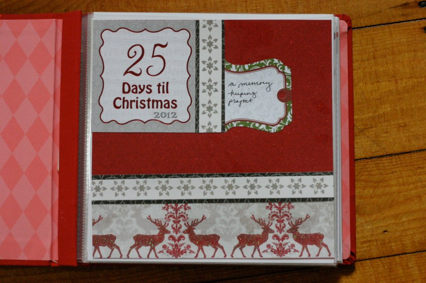 25 Days of Christmas (gift) - First Page