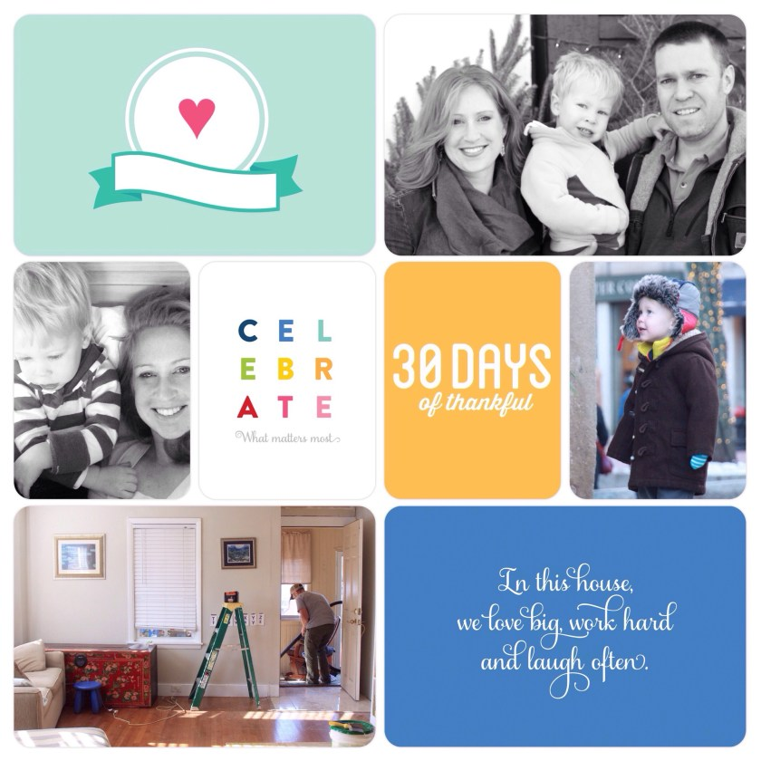30 days of thankful - 2014 album cover