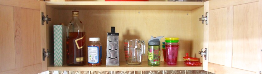 Minimize: the project where i get rid of all the things (in the kitchen)