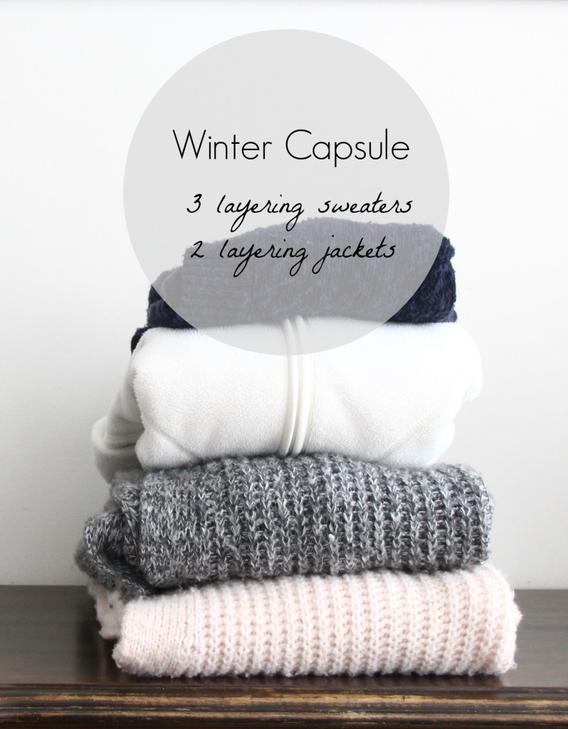 Winter Capsule Wardrobe | How I Sustain Blog