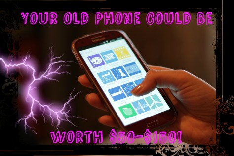 A kid's old cell phone could be worth 50 dollars or more
