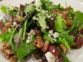 Look at this walnut and grape salad!