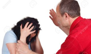 9079156-Violent-husband-apply-one-beat-to-his-wife-Stock-Photo-violence-family-domestic