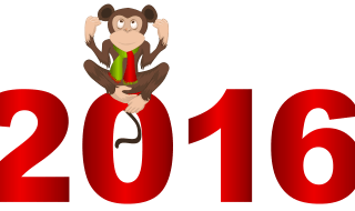 2016_with_Monkey_PNG_Clipart_Image
