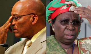 Nkosazana Dlamini Zuma and Jacob Zuma
