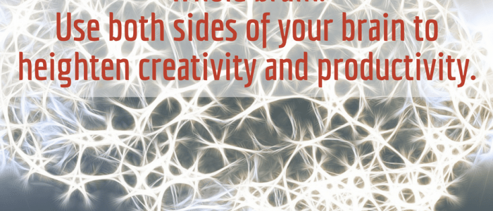 How to Engage Your Whole Brain When You Blog