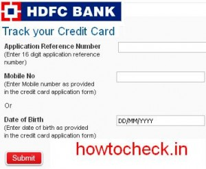 How To Check Hdfc Bank Credit Card Status at hdfcbank.com - How to Check Online Info -We Will ...