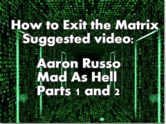 Video: Aaron Russo- Mad As Hell Parts 1 and 2