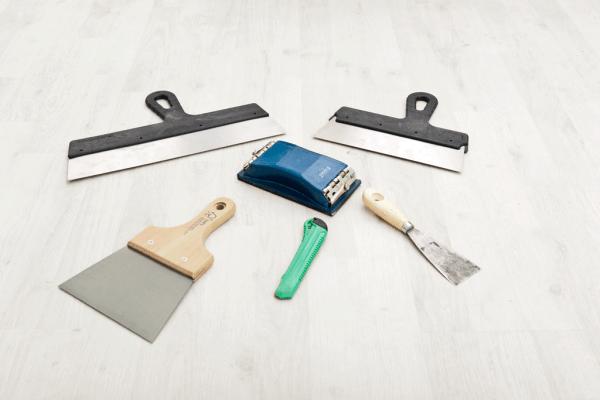 Drywall repair tools