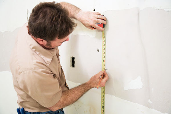 Measuring-drywall