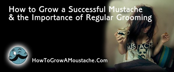 How to Grow  a Successful Mustache & the Importance of Regular Grooming