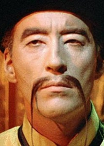 What is a Fu Manchu Moustache?