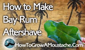 how to make bay rum aftershave