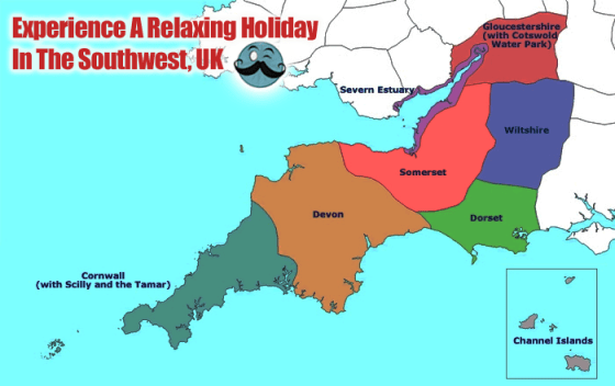 Experience A Relaxing Holiday  In The Southwest,  UK