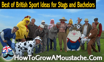 Best of British Sport Ideas for Stags and Bachelors