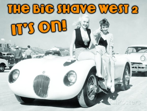 Blast Off For The Big Shave West 2016!