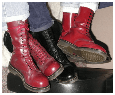From Pete Townsend To The Pope - Dr Martens Boots