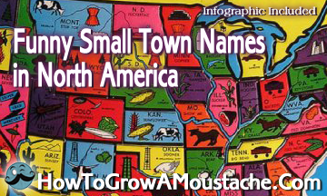 Funny Small Town Names In North America How To Grow A