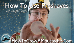 how to use preshave soap