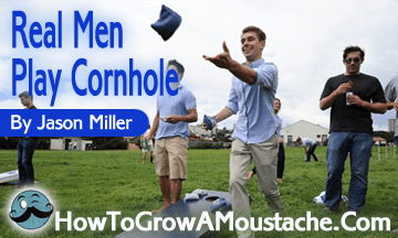 Real Men Play Cornhole