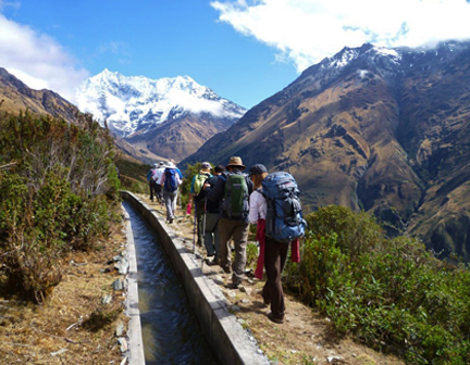 Trekking in Peru: the Salkantay Lodge to Lodge Trek