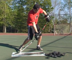 How to improve slapshot power by flexing the stick
