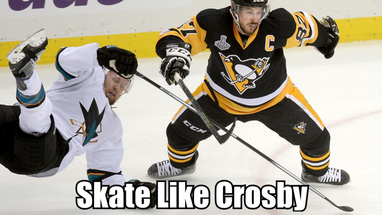 How to Skate like Sidney Crosby