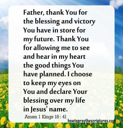 Prayer To Thank God For Blessing You