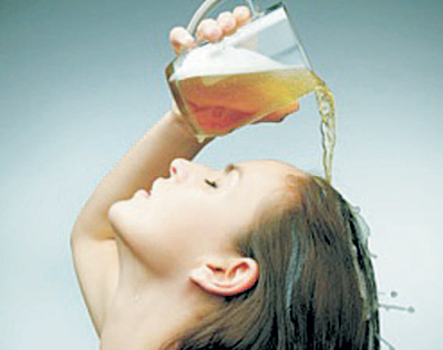 Washing your Hair with Beer