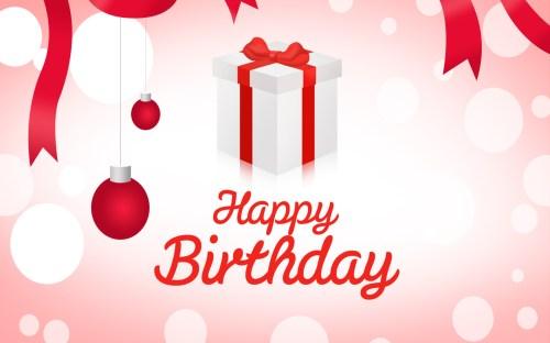 Medium Of Happy Birthday Will