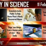 Today in Science 11 Feb, 2013 by Hashem AL-ghaili