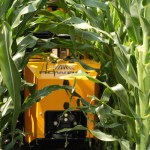 Rowbot Robot Tends to Farmers' Fields