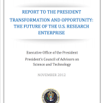 Report to the President — Transformation and Opportunity: The Future of the U.S. Research Enterprise