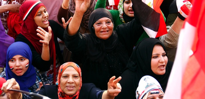 Sisi Supporters in Tahrir Square