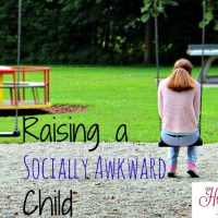 Raising a Socially Awkward Child