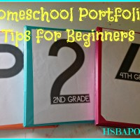 Homeschool Portfolio Tips for Beginners