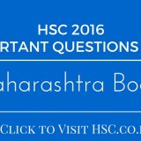 HSC IMPORTANT QUESTIONS BANK 2016