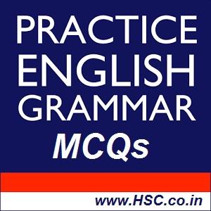 grammar MCQs Test English