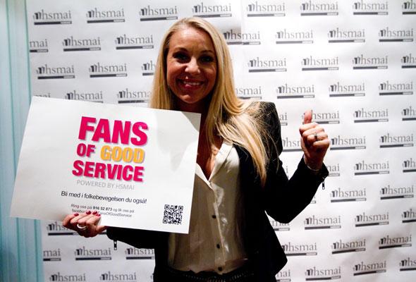 Janne Formoe. Fans of good service