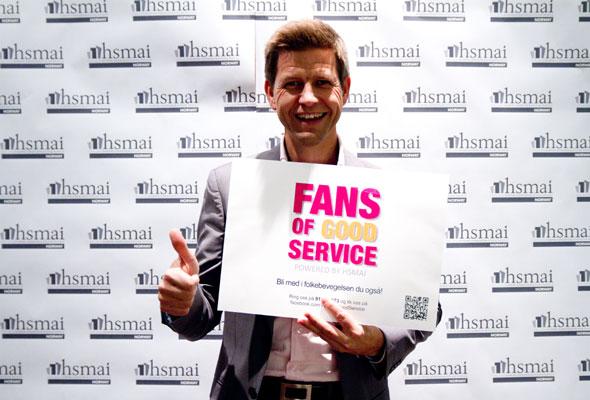 Sverre Høven. Fans of good service