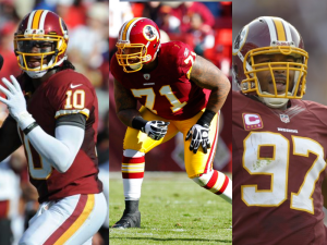 skinsinprowbowl 300x225 Three Redskins Players Make the Pro Bowl, Two Named as Alternates