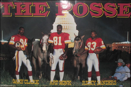 the redskins posse Flashback Friday: Art, Gary and Ricky   Posse Love (Video)
