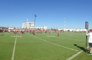 Washington Redskins Training Camp Drills 7-25-2014