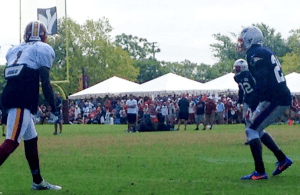Redskins-Patriots Joint Practice Recap Day 1